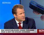 CCTV discusses NSA leaker Edward Snowden with Scott Oswald